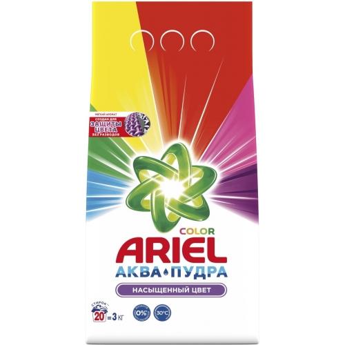 """Ariel Порошок стиральный """"Color"""", для цветных вещей, автомат, 3 кг"""