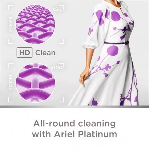 Ariel Automatic Platinum Fragrant Washing Powder, 3 кг,(ОАЭ)