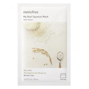 Innisfree Тканевая маска для лица с рисом, 20 мл