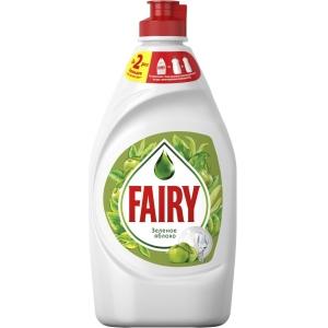 """Fairy Средство для мытья посуды """"Зеленое яблоко"""", 450 мл"""