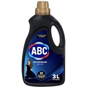 ABC Жидкий стиральный порошок для черного 3 л