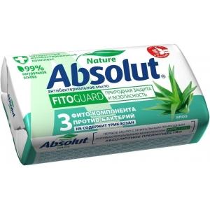 Absolut Nature Мыло туалетное антибактериальное алое, 90 г