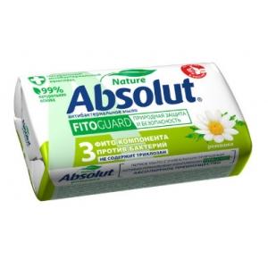 Absolut Nature Мыло туалетное антибактериальное ромашка, 90 г