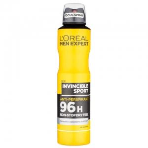 Дезодорант-антиперспирант L'Oréal Men Expert Invincible Sport 96H, 250 мл