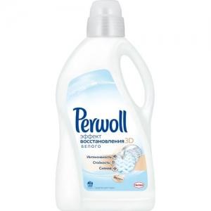 Perwoll 3D Восстановление белого жидкость для стирки 2 л