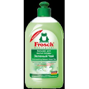 Frosch Бальзам для мытья посуды Зеленый Чай, 500 мл.