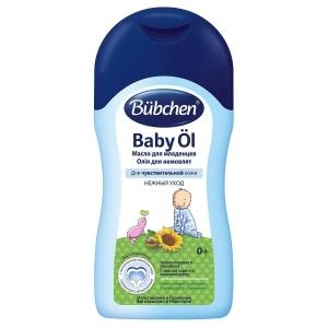 Bubchen Детское масло с маслом карите и подсолнечника для новорожденных 400 мл