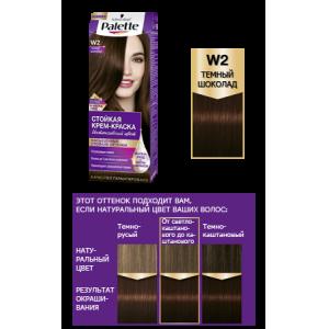 Стойкая крем-краска W2 Темный Шоколад