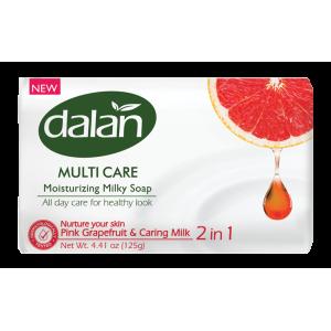 Dalan Мыло увлажняющее молочное грейпфрут, 125 гр