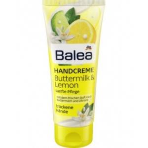 Balea крем для рук с лимонным маслом, 100 мл