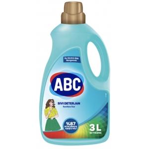 ABC Жидкий стиральный порошок для цветного3 л