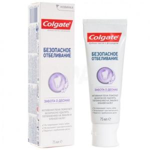 Зубная паста Colgate Безопасное отбеливание Забота о деснах (75 мл