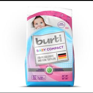 BURTI BABY COMPACT Детский порошок 900 гр
