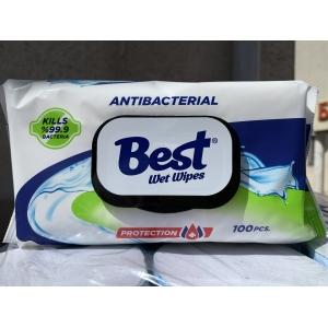 Best антибактериальные салфетки 100 штук