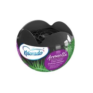 Aromella Освежитель воздуха гелевый Зеленый ветивер, 150г., Kolorado