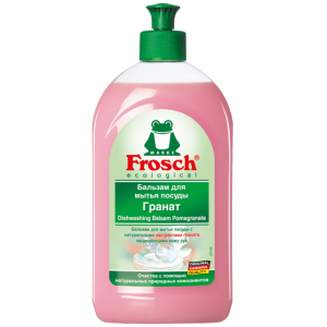 Frosch Бальзам для мытья посуды Гранат, 500 мл