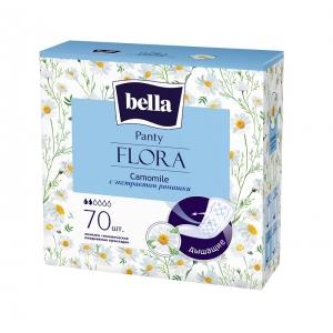 Bella panty flora ежедневки с экстрактом ромашки,  70 шт