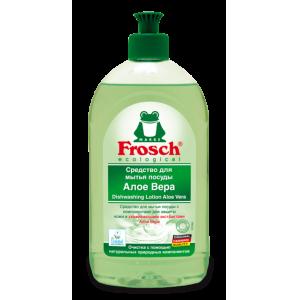 Frosch Средство для мытья посуды Алое Вера, 500 мл.