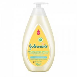 JOHNSON'S® Детский шампунь и пенка для мытья и купания «От макушки до пяточек» 500 мл