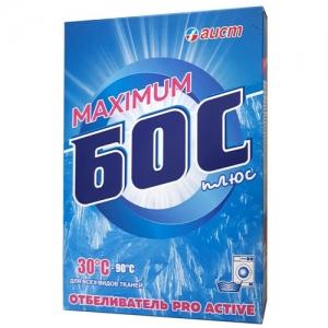 БОС плюс Maximum Отбеливатель порошковый, 600 г