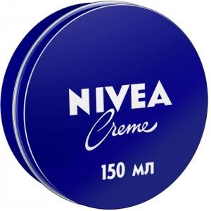 Nivea Creme Увлажняющий универсальный крем, для лица, рук и тела с пантенолом, 150 мл
