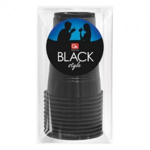 Стаканы GRIFON BLACK, 200 мл, 10 шт