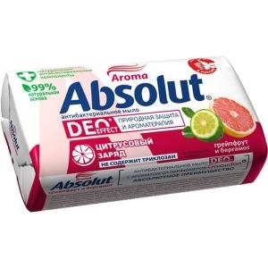 Absolut DEO Мыло туалетное антибактериальное , 90 г