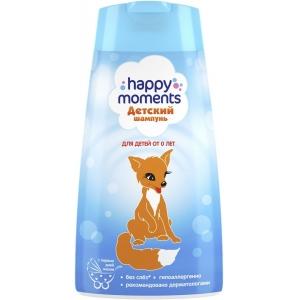 Happy Moments Шампунь для волос детский, от 0 лет, 240 мл