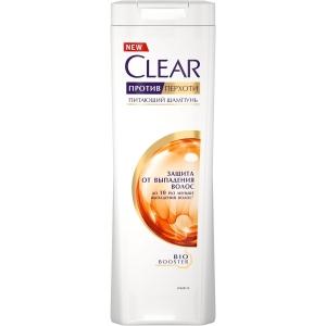"""CLEAR Шампунь против перхоти для женщин """"Защита от выпадения волос"""", 200 мл"""