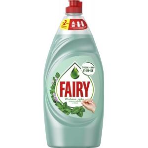 """Fairy для мытья посуды """"Чайное дерево и мята"""" 900мл"""