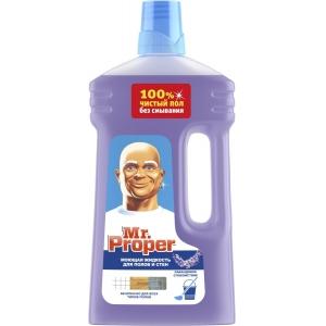 Mr. Proper Жидкость моющая для полов и стен, лавандовое спокойствие, 1 л