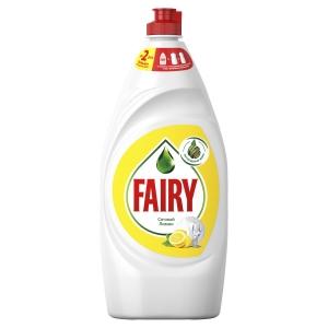 "Fairy для мытья посуды ""Сочный лимон"" 900мл"