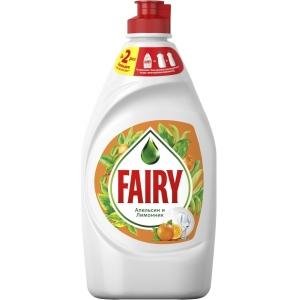 """Fairy Средство для мытья посуды """"Апельсин и лимонник"""", 450 мл"""