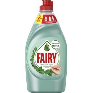 """Fairy Средство для мытья посуды """"Нежные руки. Чайное дерево и мята"""", 450 мл"""