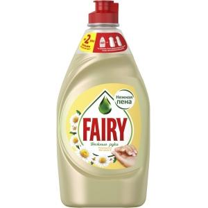 """Fairy Средство для мытья посуды """"Нежные руки. Ромашка и витамин Е"""", 450 мл"""