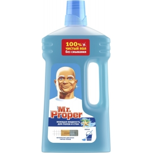 Mr. ProperЖидкость моющая для полов и стен , океанская свежесть, 1 л