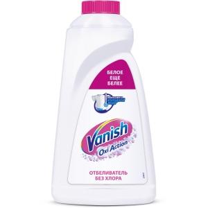 Vanish пятновыводитель и отбеливатель для белого, 1 л