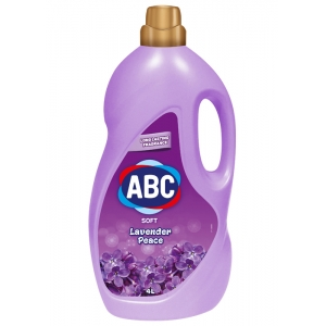 ABC кондиционер для белья с запахом лаванды 4 л