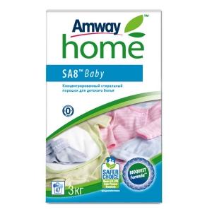 SA8 Baby Концентрированный стиральный порошок для детского белья, 3 кг