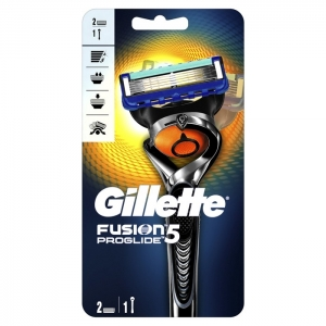 GILLETTE FUSION PROGLIDE С ТЕХНОЛОГИЕЙ FLEXBALL (станок +2 кассеты)