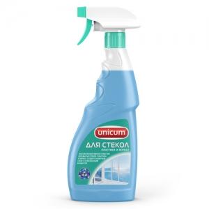 UNICUM Средство для мытья стекол, пластика и зеркал 500 мл