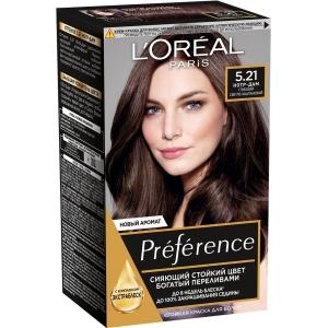 PRÉFÉRENCE  Стойкая краска для волос, оттенок 5.21 Нотр-Дам.