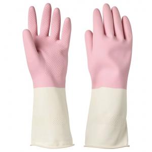 Хозяйственные перчатки, розовый, S РИННИНГ