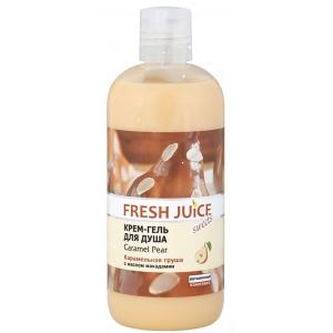 """Fresh Juice Крем-гель для душа """"Груша в карамели"""""""