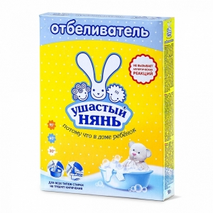 Отбеливатель порошкообразный для детского белья «Ушастый нянь»