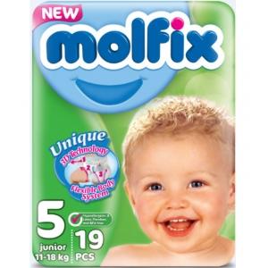 Molfix Junior #5 подгузники, 11-28 кг, 20шт