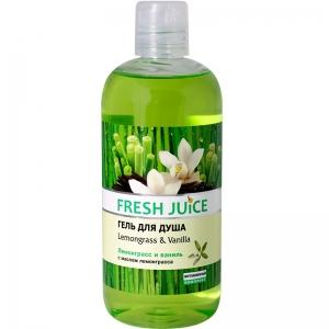Fresh Juice Гель для душа Lemongrass & Vanilla 500мл