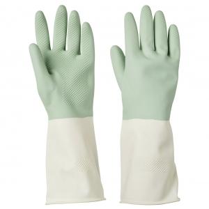 Хозяйственные перчатки, зеленый ,S  РИННИНГ