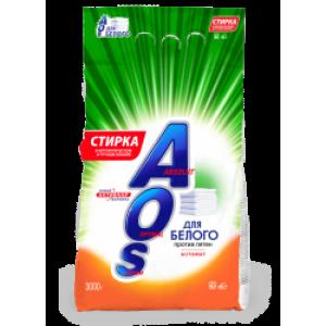 AOS Для белого 3кг стиральный порошок