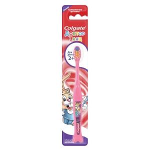 Зубная щетка Colgate Доктор заяц 2+ экстрамягкая, 1 шт